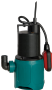 TPS-200S Manual Submersible Pump 230V